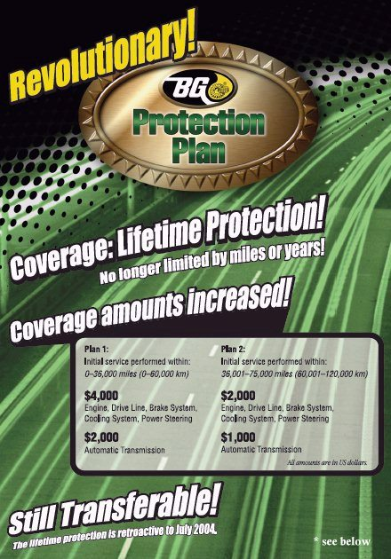 BG Protection Plan | Quality 1 Auto Service Inc