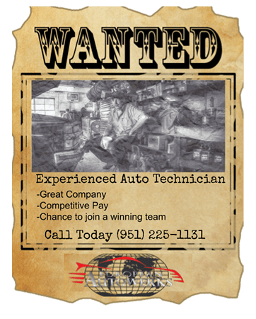 Experienced Auto Technicians Wanted
